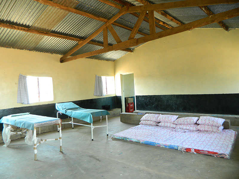 The Room Has Been Furnished With Beds And Matresses