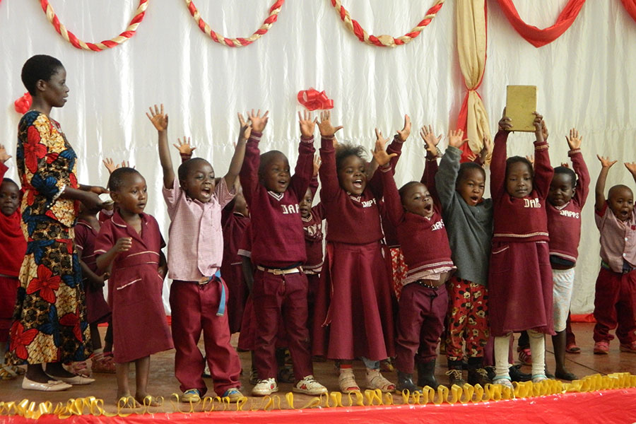 Children From Dowa TTC Pre School