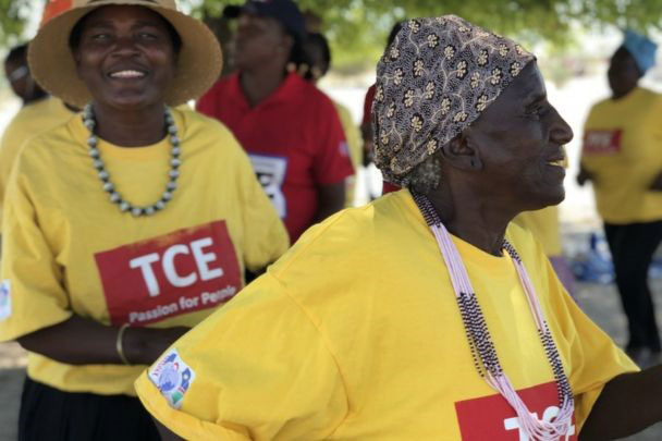 In Namibia Organised Groups Of People With HIV Provide Essential Support For Each