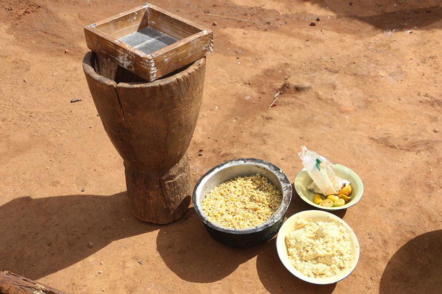 Materials Used For Making Soya Milk