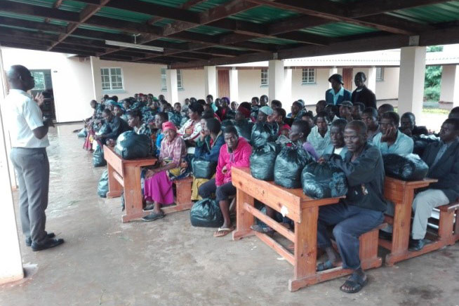 Beneficiaries Of The Clothes Donation