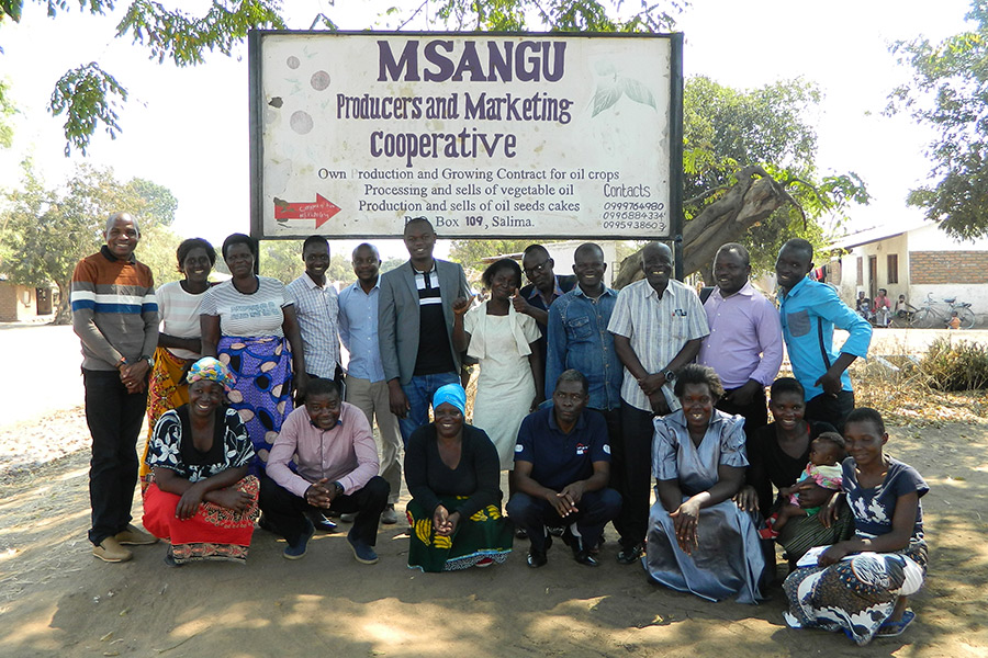 Members of Msangu Cooperative