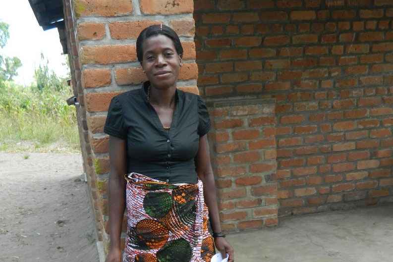 Mary one of the projects beneficiaries