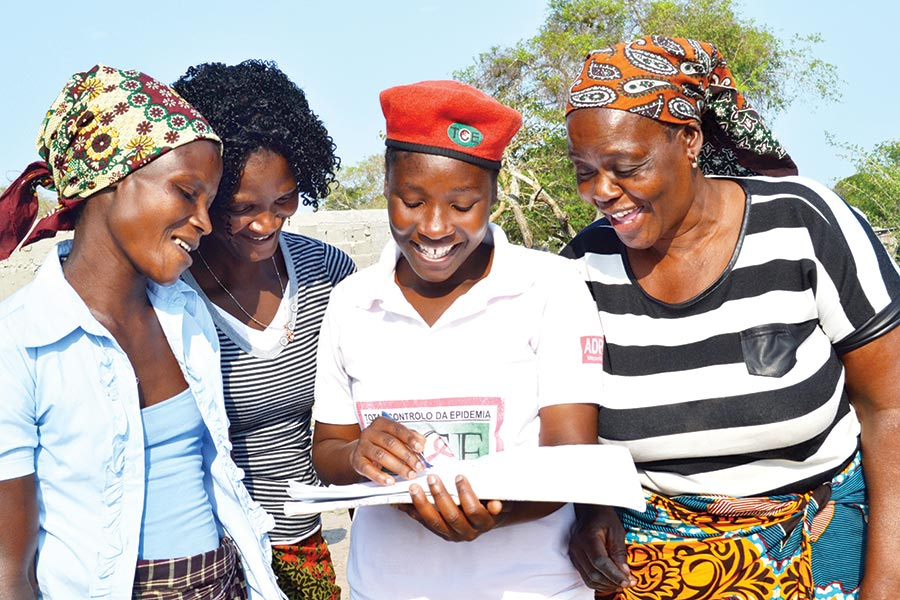 ADPP Mozambique - equipping people with essential HIV/AIDS information