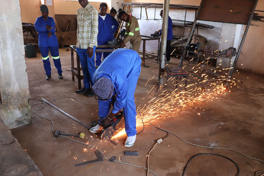 Various vocational skills will be imparted