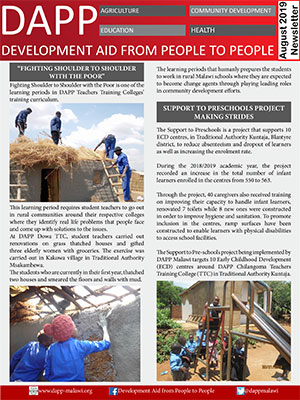 DAPP Malawi August 2019 Newsletter 1
