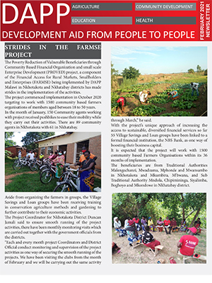 DAPP Malawi February 2021 Newsletter 1