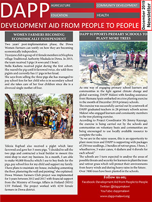 DAPP Malawi December 2019 Newsletter 300