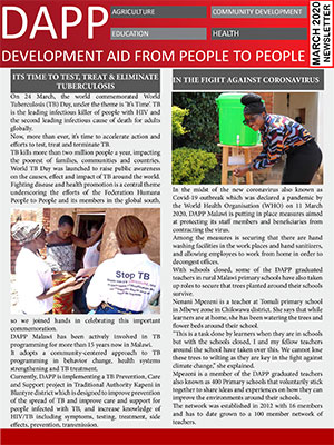 DAPP Malawi March 2020 Newsletter