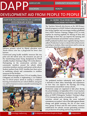 DAPP Malawi September 2019 Newsletter 1