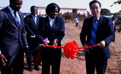 At the function to mark the official handover ceremony, The Chinese Ambassador to Malawi, Wang Shi-Ting, said the donation was made as China recognizes the importance of education to every country's development and certainly the youth's education hold a key necessary to increase the productive base of a country